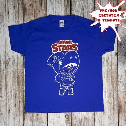 """Детская светящаяся в темноте футболка """"Бравл Старс"""""""