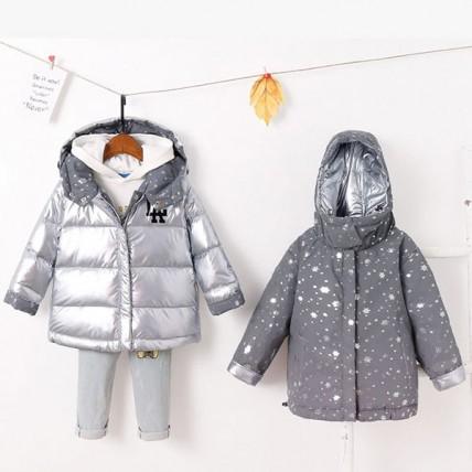 Детская двухсторонняя светоотражающая куртка