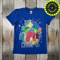 """Светящаяся футболка  """"Among Us"""""""
