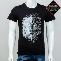 "Светящаяся футболка ""Голова льва"""